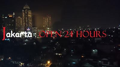 Penampakan Kota Jakarta di Malam Hari - Blog Mas Hendra