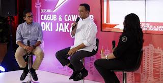 Blak-blakan Anies Baswedan dan Sandiaga Tayang Lagi