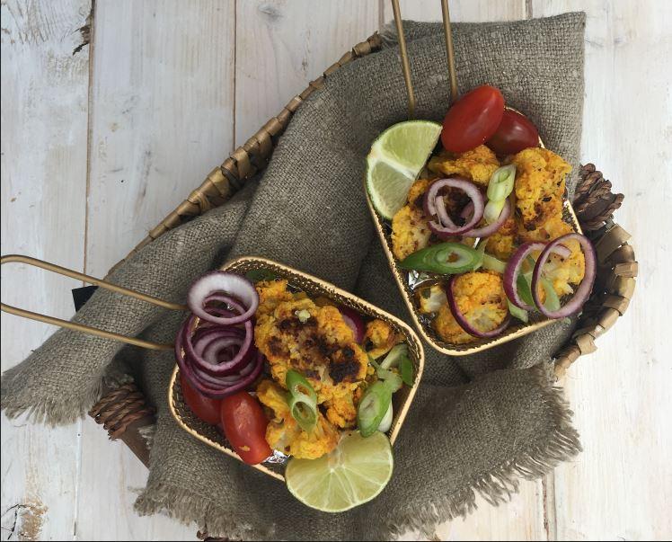 Tandoori Cauliflower Bites