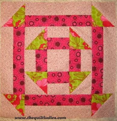 Free Quilt Pattern, Double Churn Dash Quilt Pattern