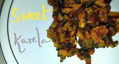 gujarati karela recipe, karela recipe, bittergourd recipe, bittergourd, thehoggerzrecipe