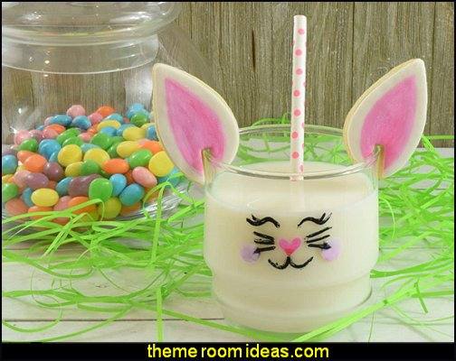 Over-the-Edge Easter Cookie Cutters, Bunny, Rabbit Ear, and Egg easter bunny party ideas