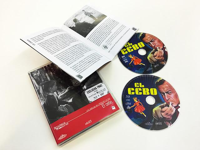 A la venta 'El cebo' en combo DVD + Blu-ray de la Filmoteca Fnacional