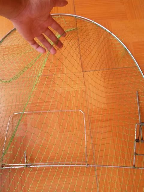 lưới làm lụp bẫy bìm bịp, chim săn