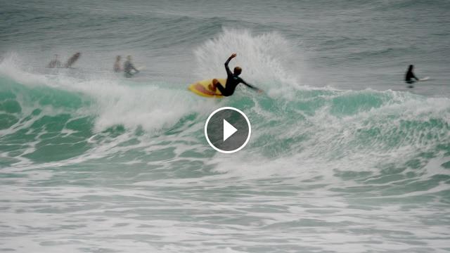 Surfing 2021 Burleigh Single Fin Saturday Highlights