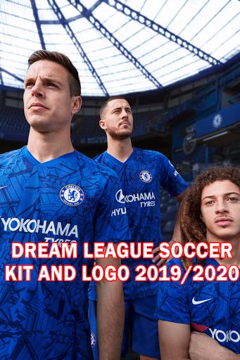 Chelsea FC 2019/2020 Dream League Soccer Kit and Logo