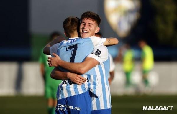 El Málaga Juvenil A jugará este domingo en la Rosaleda ante el Betis