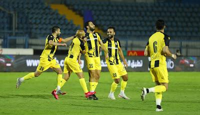 اهداف مباراة المقاولون العرب والجونة (2-1) الدوري المصري