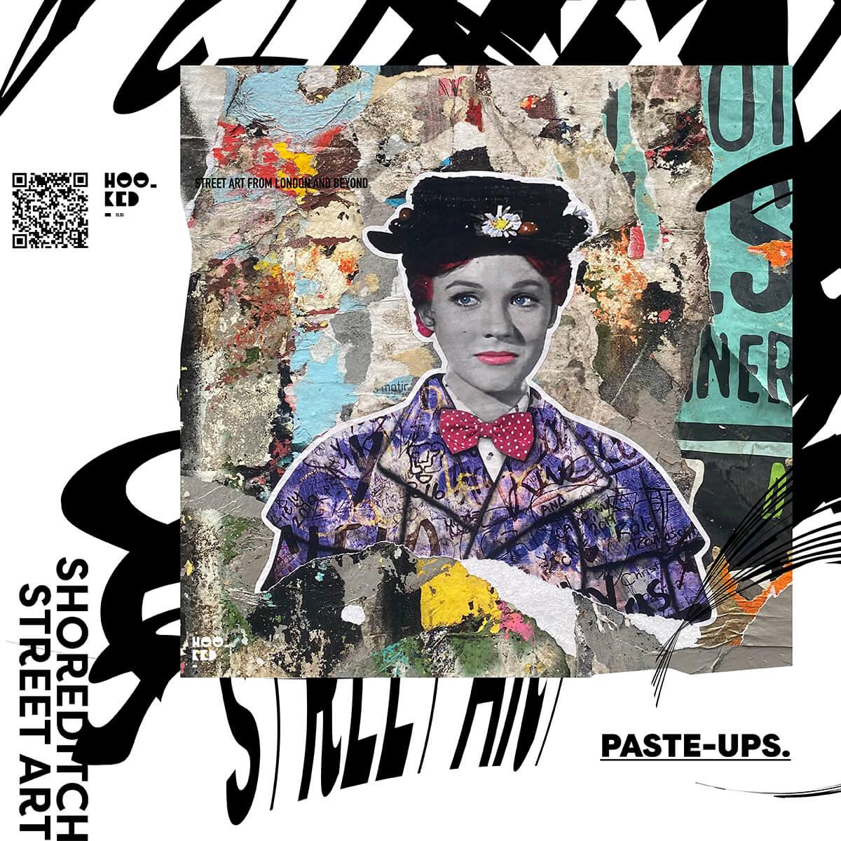 Five London Street Art Hotspots for Paste-ups