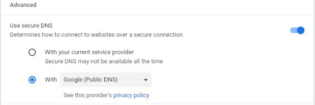 Activate Chrome's Enhanced Protection