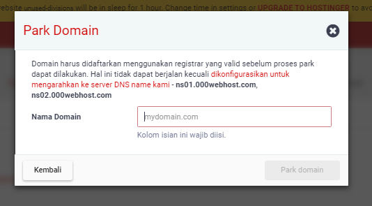 Tutorial Cara Mengubah/Mengganti Domain Name Website Di Hosting Gratis 000webhost Dengan Domain Gratis Freendom