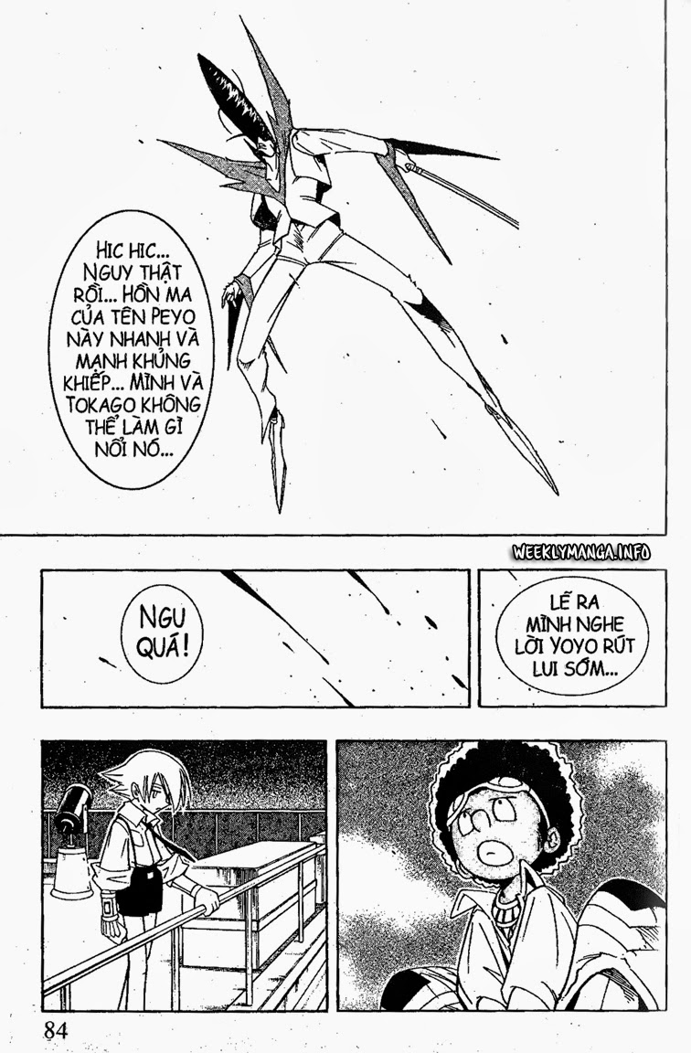 Shaman King [Vua pháp thuật] chap 188 trang 19