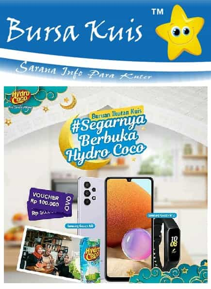 Give Away Hydrococo terbaru di Instagram