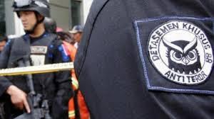 Tim Densus 88 Anti Teror Amankan Terduga Teroris di Sukoharjo
