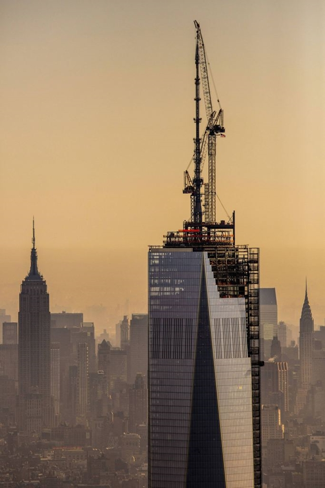 Topped put 1WTC and Empire State Building