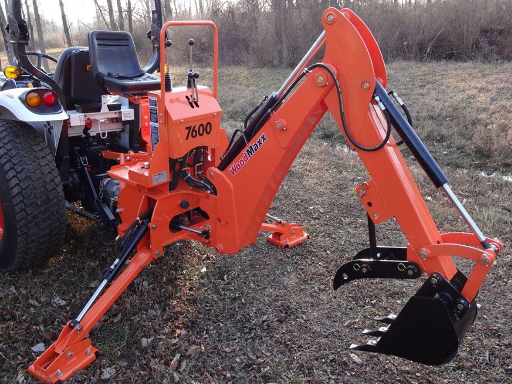 WoodMaxx WM-7600 7' PTO Backhoe Attachment