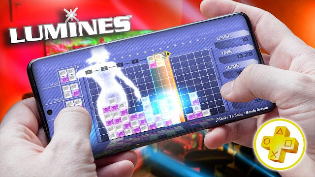 Lumines Para Android (Configuraciones) [ROM PSP]