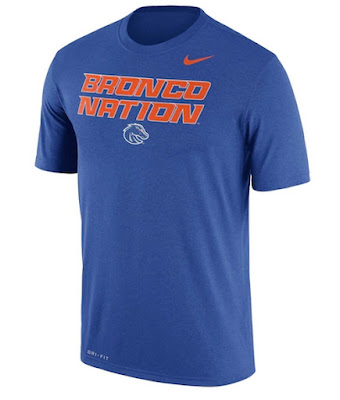 Boise State Broncos Blue Day Tshirt