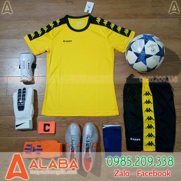 Áo bóng đá màu vàng chất lượng cao