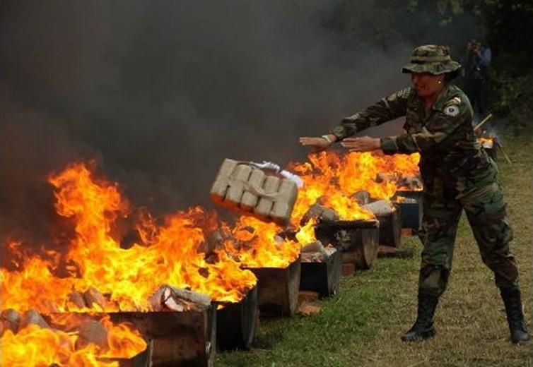 Se quemará droga incautada en cinco departamentos / ARCHIVO WEB