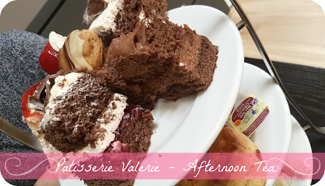 Patisserie Valerie afternoon tea liverpool debenhams
