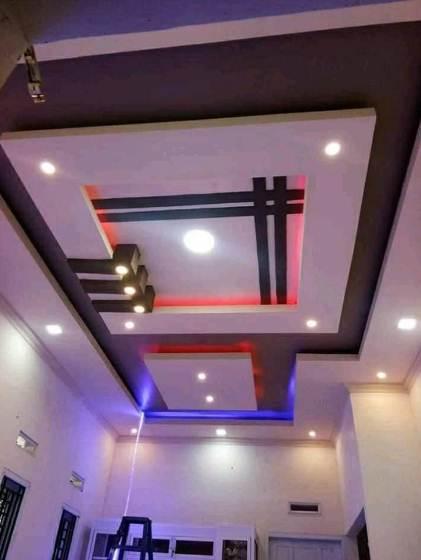 Desain plafon rumah minimalis tipe 45