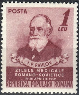 Romania 1952 Ivan Pavlov Russian physiologist
