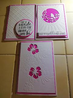 au bonheur des cartes, big shot, embossage à froid, C&S, carte, blanc, rose,