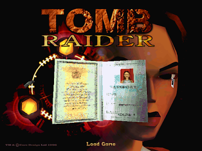 【Dos】古墓奇兵(古墓麗影、Tomb Raider),骨灰級動作解謎遊戲!