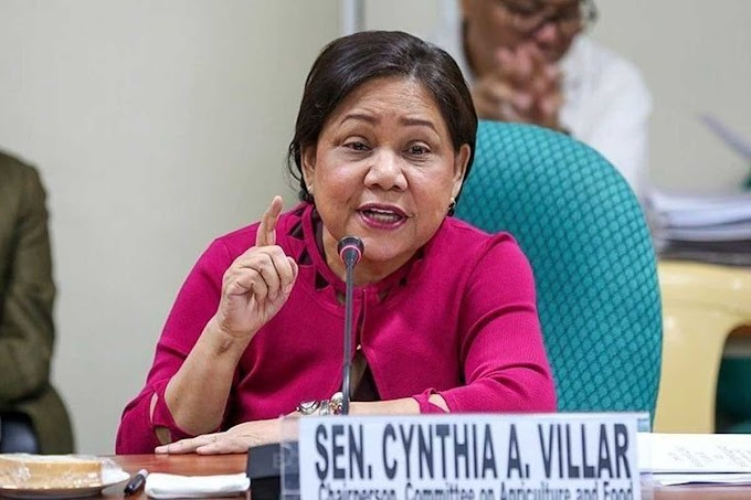 """I Humbly Apologize"" said by Senator Cynthia Villar after the Senate Hearing Comment She Made"