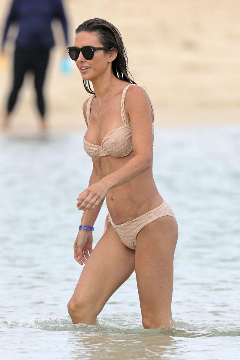 Audrina Patridge Clicked in Bikini at a Beach in Hawaii 8 May-2021
