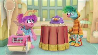 Abby's Flying Fairy School Pet Day, Abby Cadabby Blögg Gonnigan Mrs. Sparklenose, Sesame Street Episode 4401 Telly gets Jealous season 44