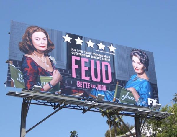 Feud Bette Joan Emmy consideration billboard