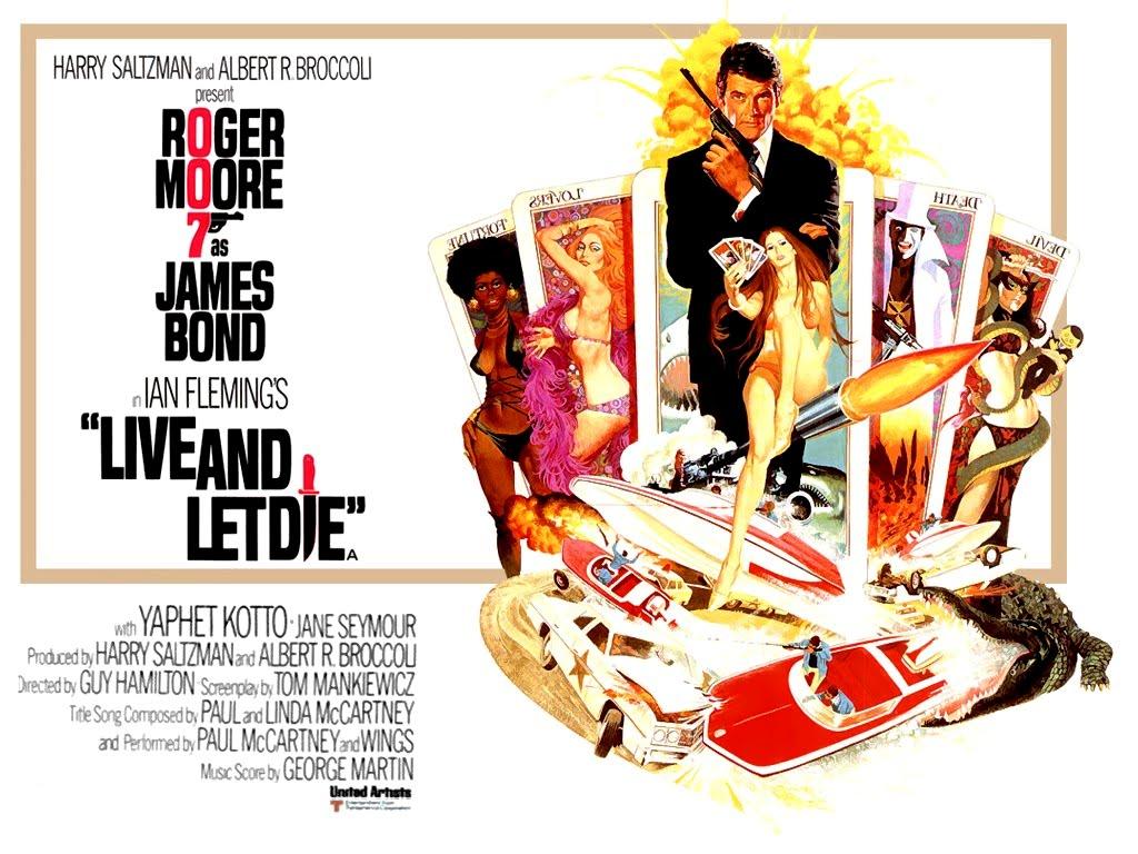 Vivre et laisser mourir film et livre Ian Flemming Critique James Bond 007