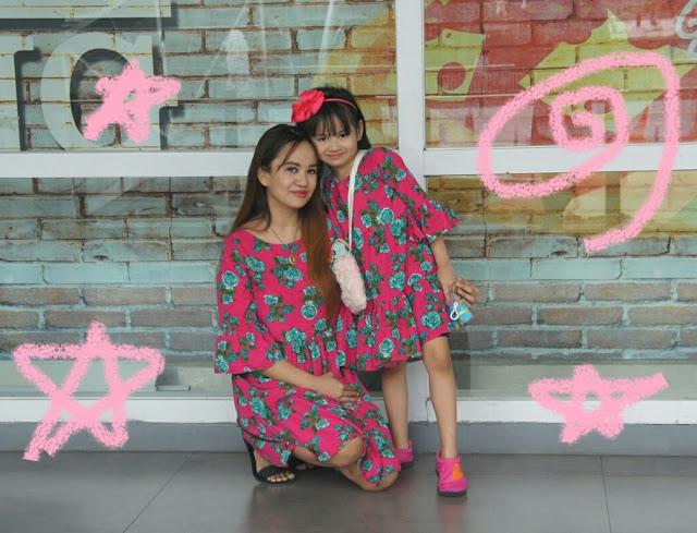 mother daughter matchy dress