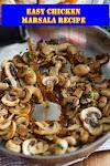 #Easy #Chicken #Marsala #Recipe