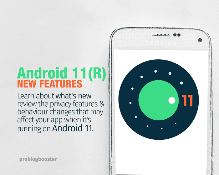 Android 11 New Features