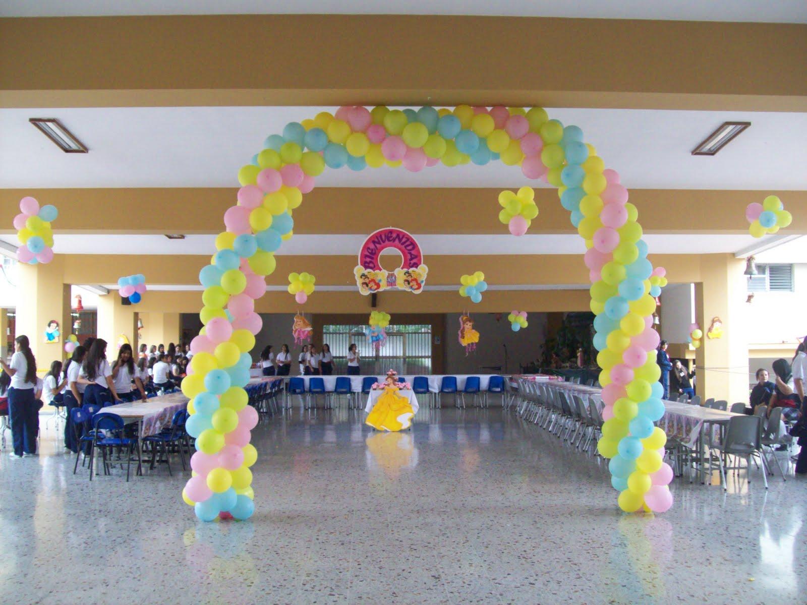 Decoracion arcos con globos recreacionistas medellin y - Decoracion fiestas tematicas ...