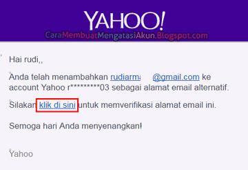 setelan yahoo mail
