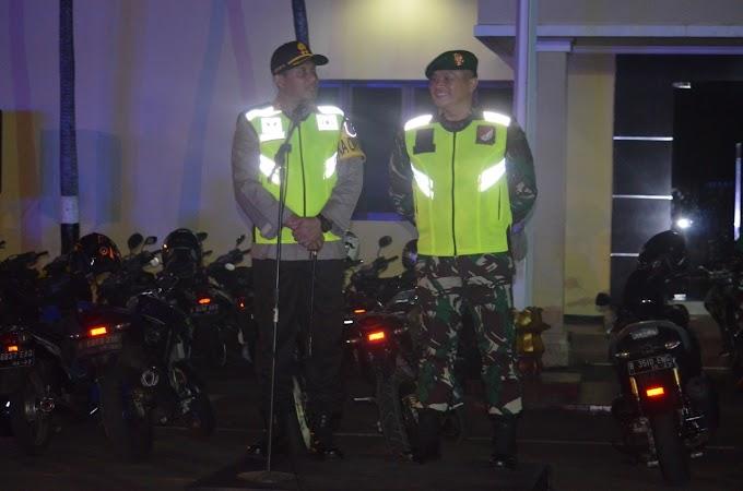 Kodim dan Polresta Depok Patroli Malam