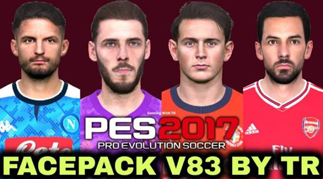 PES 2017 New Facepack V.83