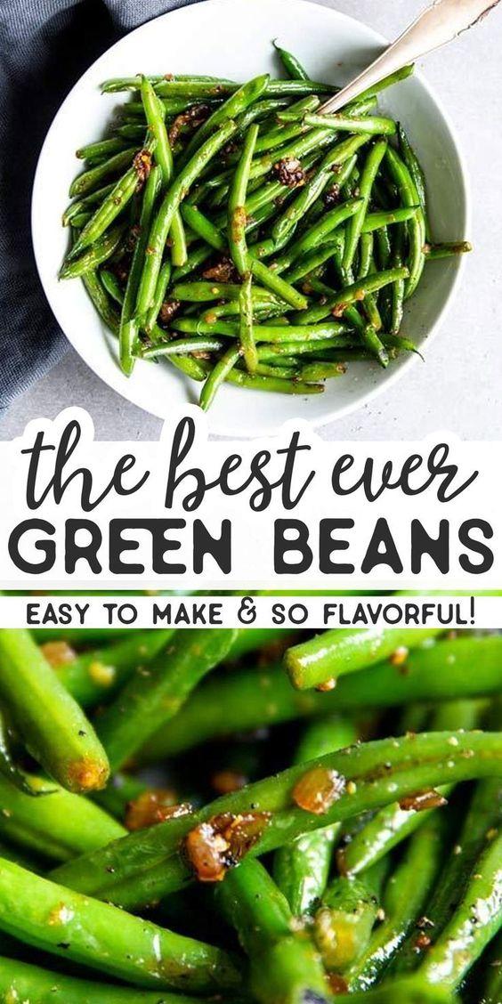 Easy Sautéed Green Beans Recipe