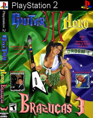 GUITAR HERO BRAZUCAS 3 (ISO) PS2 TORRENT