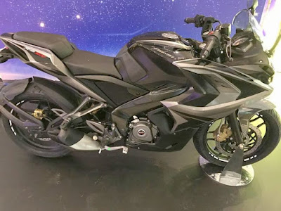 2017 Bajaj Pulsar RS200 side profile picture