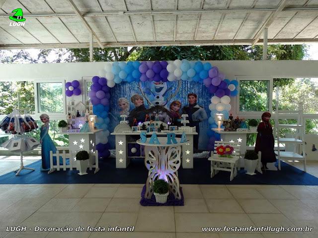 Decoração provençal luxo - Festa Frozen