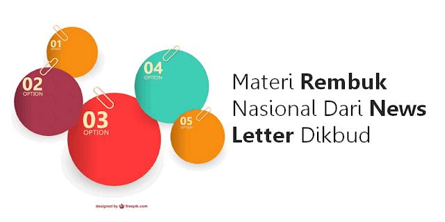 Download Materi Rembuk Nasional Dari News Letter Dikbud