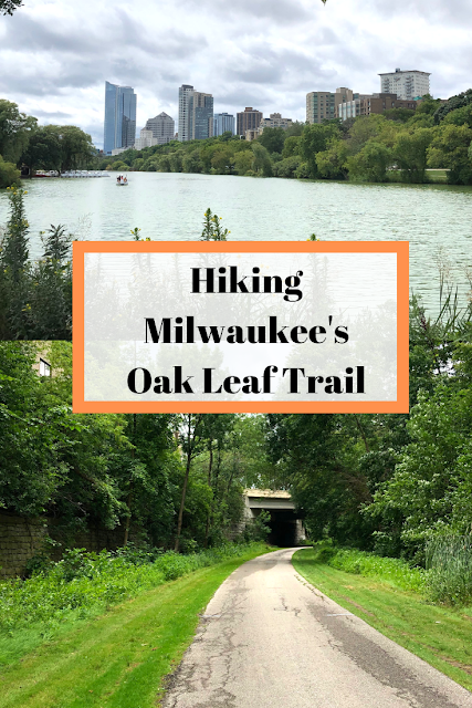 Hiking Around Milwaukee on the Oak Leaf Trail a 125 mile trail system in and around the city.