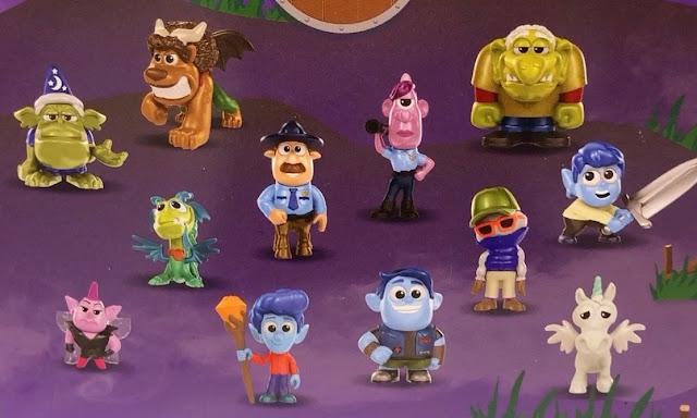 Pixar Onward Minis close up photo