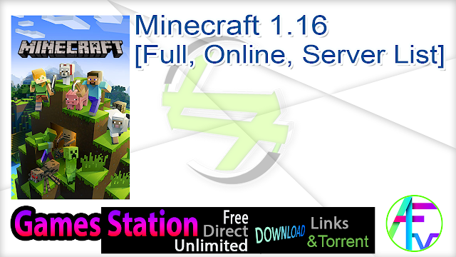 Minecraft 1.16 [Full, Online, Server List]