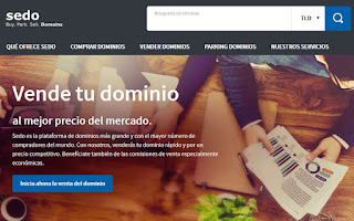 Sedo, plataforma para ganar dinero con la compraventa de dominios web